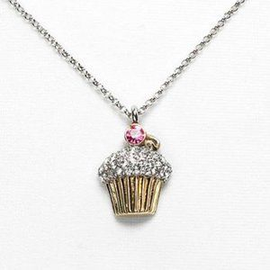 """Juicy Couture Cupcake Wish Necklace - 15"""""""